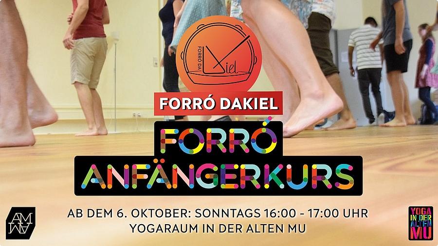 Forró-Anfängerkurs mit Forró Dakiel