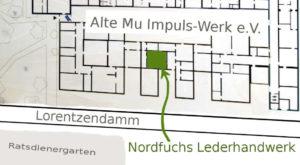 Lageplan Nordfuchs Lederhandwerk