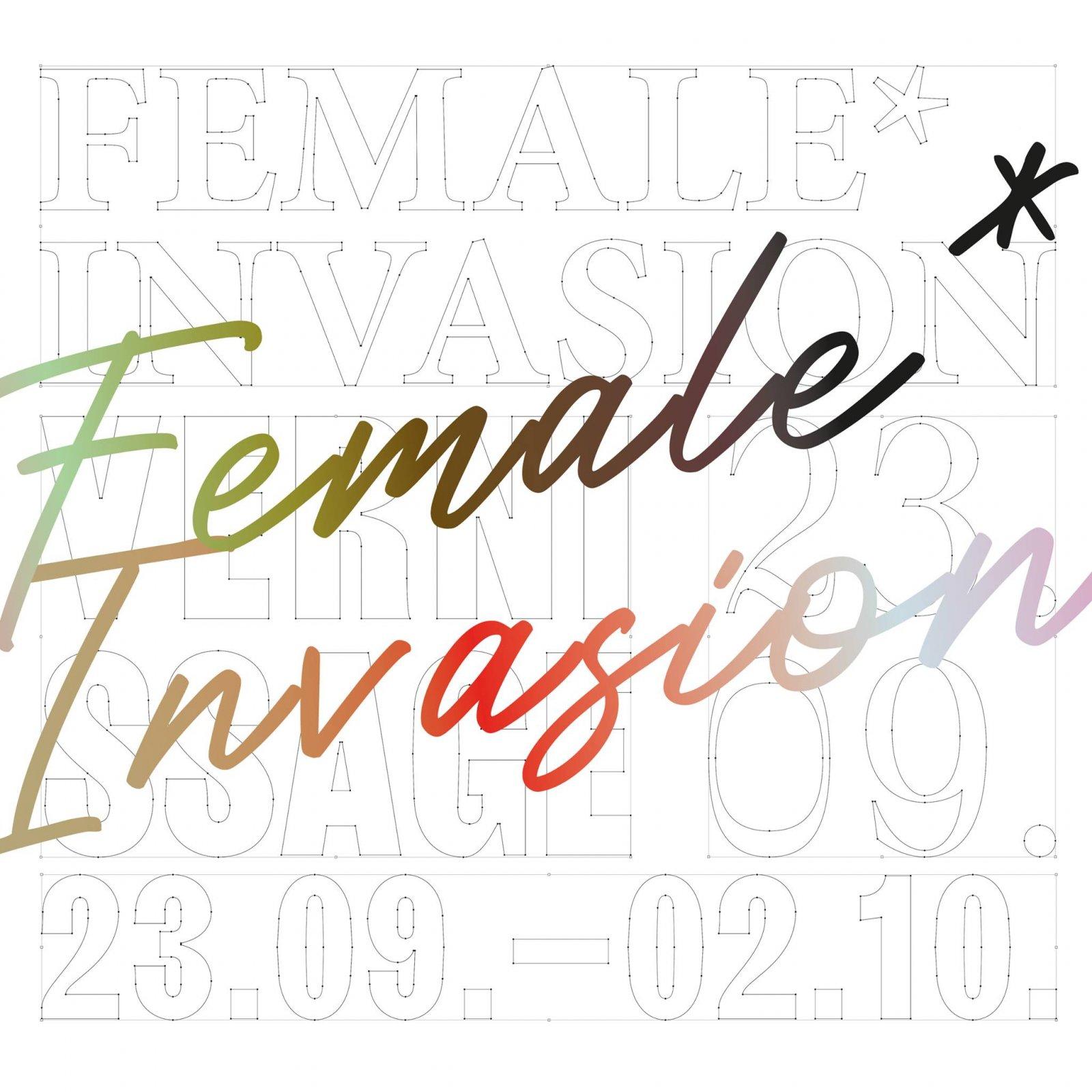 FEMALE*INVASION Ausstellung
